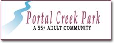 Portal Creek Park logo